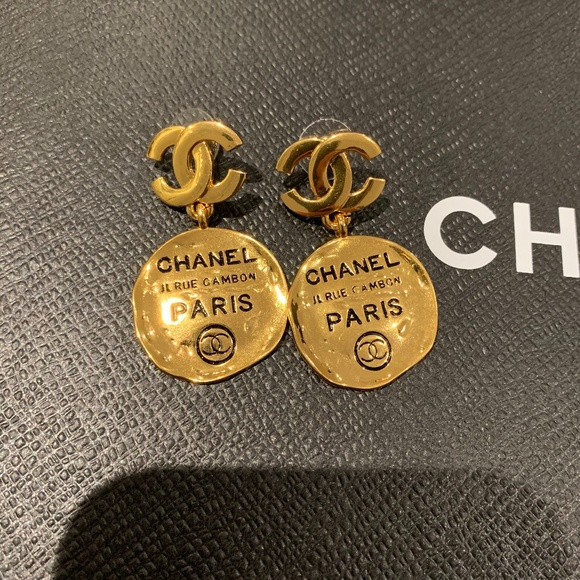 CHANEL Jewelry - *SOLD* Vintage Chanel Rue Cambon Earrings